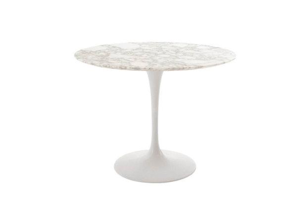 tavolo tulip alivar marmo bianco michelangelo