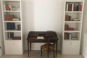 Libreria bianca classica