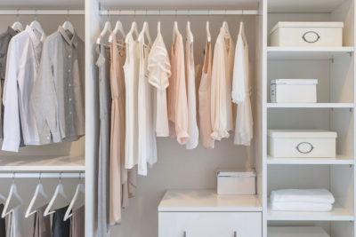 Ordinare l'armadio con il metodo KonMari