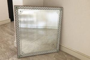 specchio vintage ceramica