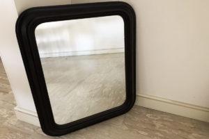 specchio legno vintage