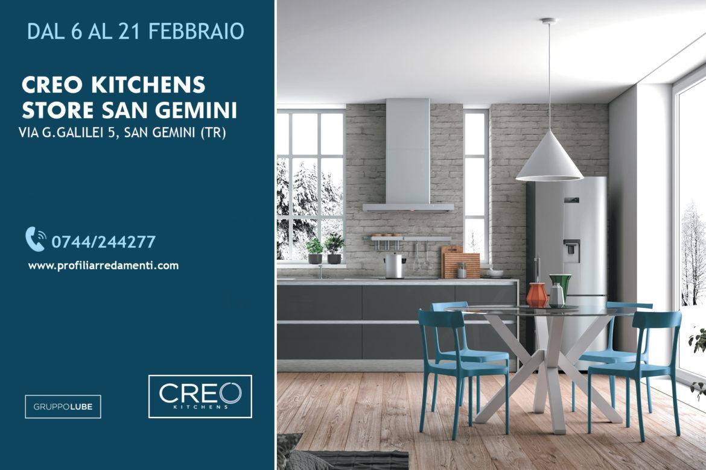 Promozione CREO KITCHENS Febbraio 2020