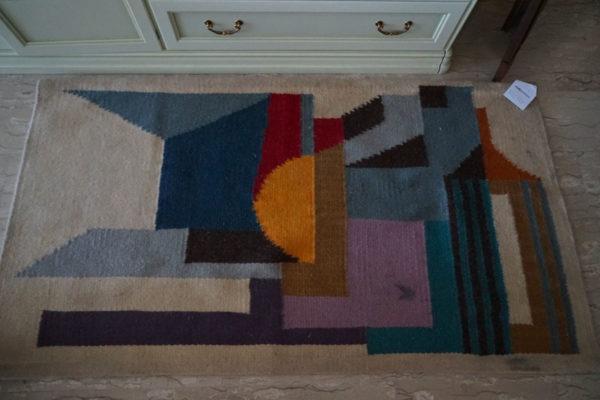 tappeto vintage lana