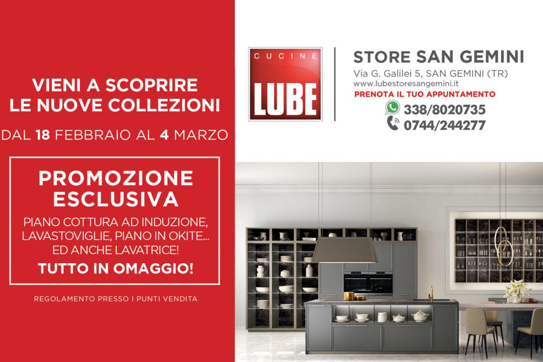 Promozioni cucine Lube e Creo Kitchens